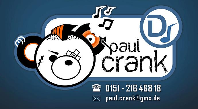 Logo / Visitenkarten 'Paul Crank'