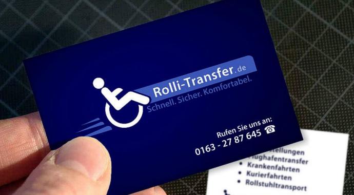 Visitenkarten 'Rolli-Transfer.de'