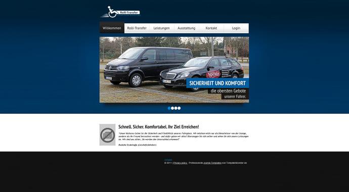 Website 'Rolli-Transfer.de'